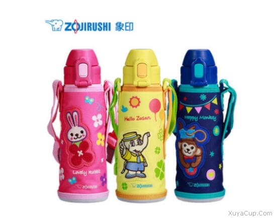ZOJIRUSHI 日本象印儿童用不锈钢真空保冷瓶SD-CAE50